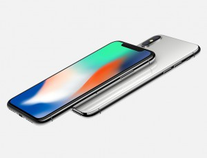 Alt-Tag: Die Rückseite und Vorderseite des iPhone X sind hochwertig