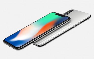 Die Rückseite und Vorderseite des iPhone X sind hochwertig