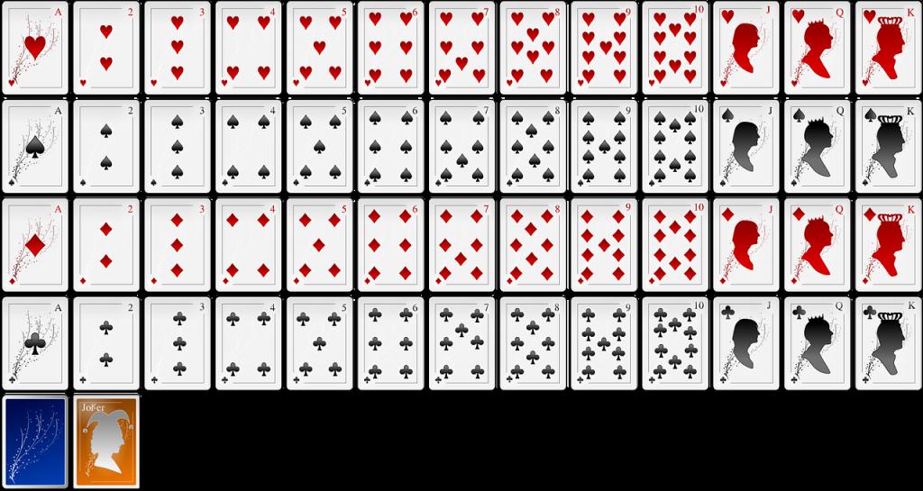 poker blätter reihenfolge