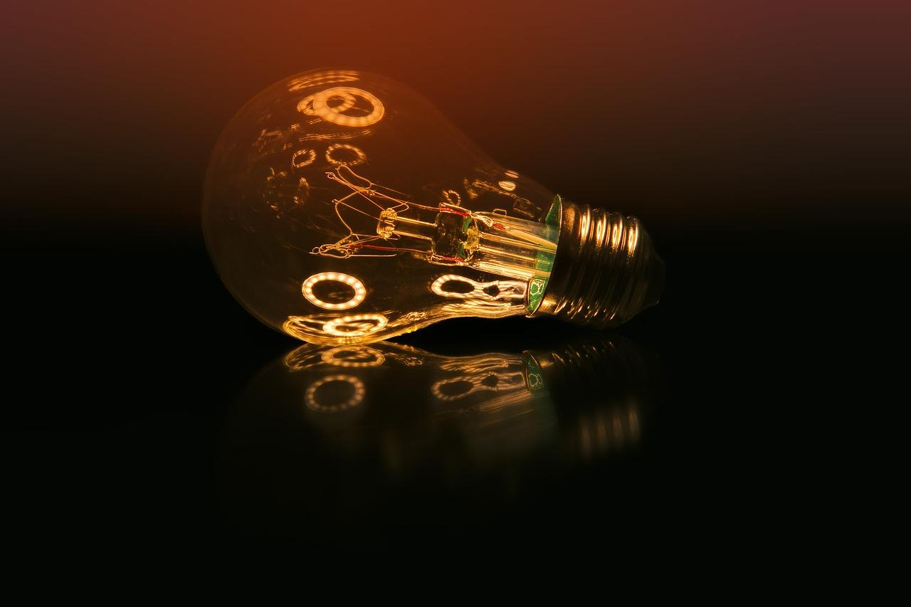 industrial retro Glühbirne
