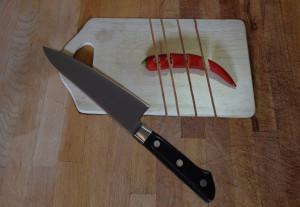 küchenmesser scharf